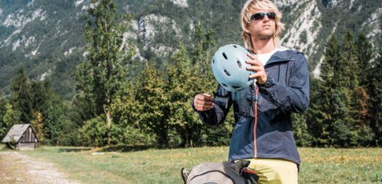 登山ヘルメット