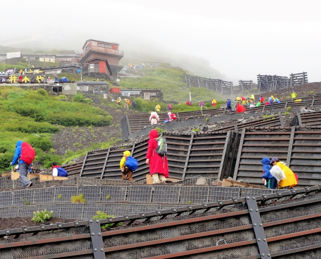 富士山 服装
