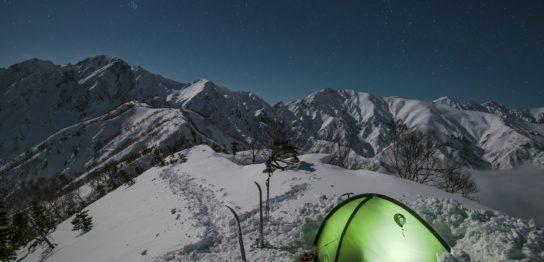 雪山テント